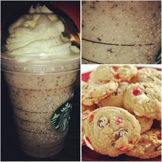 Just Added : *PEPPERMINT CHOCOLATE CHIP FRAPPUCCINO* !! a simple, yet, delicious frappuccino that's sure to please you if you're in the mood for something minty & chocolately!