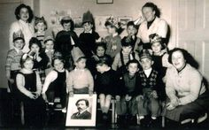 Sholem Aleichem Kindergarten party 1954