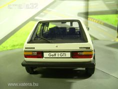 Volkswagen Golf I GTI - Welly 1/18 - 5050 Ft - Nézd meg Te is Vaterán - Autó, busz - http://www.vatera.hu/item/view/?cod=2108637395