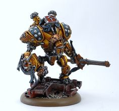 Gallant here is the newest Cygnar/Mercenary warjack for Warmachine. I decided I wanted to do something a little different for it given its unique …