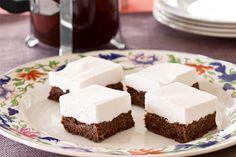 Chocolate mallow slice – Recipes – Bite