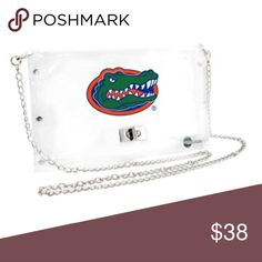 Florida Gators Clear  stadium purse NWT officially licensed collegiate product Urban Outfitters Accessories