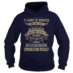 Communications Specialist Forever Job Title Shirts #gift #ideas #Popular #Everything #Videos #Shop #Animals #pets #Architecture #Art #Cars #motorcycles #Celebrities #DIY #crafts #Design #Education #Entertainment #Food #drink #Gardening #Geek #Hair #beauty #Health #fitness #History #Holidays #events #Home decor #Humor #Illustrations #posters #Kids #parenting #Men #Outdoors #Photography #Products #Quotes #Science #nature #Sports #Tattoos #Technology #Travel #Weddings #Women
