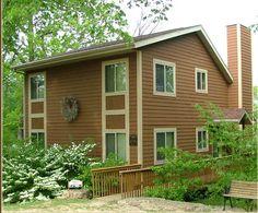 Deerview Lodges, Illinois, Garage Doors, Shed, Heaven, Outdoor Structures, Outdoor Decor, Home Decor, Cabins