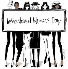 Happy Women's Day ! : QUOTATION – Image : Quotes Of the day – Happy Women's Day ! International Women's Day – Megan Hess Illustration Sharing is Caring Illustration Megan Hess, Blog Frases, Kerrie Hess, Happy International Women's Day, Hayden Williams, Happy Women, Fashion Quotes, Fashion Sketches, Fashion Illustrations