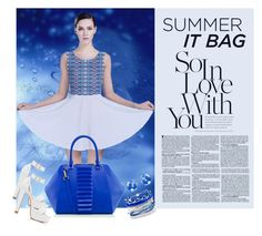 """Summer It Bag"" by elena-indolfi ❤ liked on Polyvore featuring Forever New, Domo Beads and Monsoon"