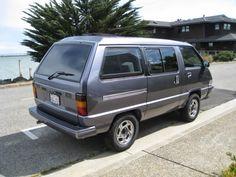 Daily Turismo: 5k: Micro Camper: 1987 Toyota Van 4X4 Conversion Toyota Van, Transformers Bumblebee, Full Throttle, Dream Garage, Weekend Trips, Electric Cars, Camper Van, Van Life, Luxury Cars
