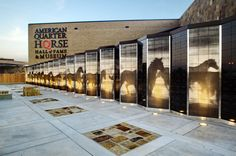 American Quarter Horse Donor Wall by Tracie Fleming, via Behance