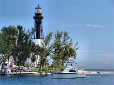 Hillsboro Inlet - Lighthouse Point, Florida (not really a beautiful lighthouse, but the surroundings make up for it)