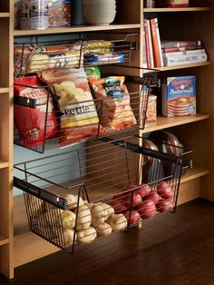 19 Kitchen Cabinet Storage Systems | DIY Kitchen Design Ideas - Kitchen Cabinets, Islands, Backsplashes | DIY