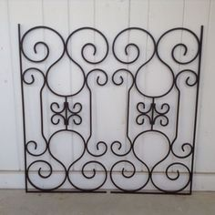 Garden Gate Wall Decor large tuscan wrought iron metal wall decor adornohomedecor https