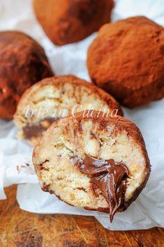 Tartufini tiramisu e nutella dolce freddo veloce vickyart arte in cucina