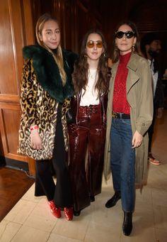 Este, Alana and Danielle Haim of HAIM at the Roc Nation Pre-Grammys Brunch
