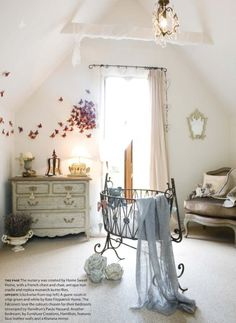 baby girl room - french style