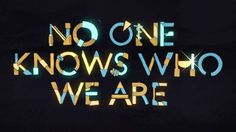 """No One Knows Who We Are"" - Kaskade & Swanky Tunes Ft. Lights"