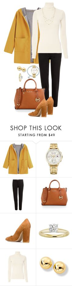 """Sunset"" by marijime-paperdoll ❤ liked on Polyvore featuring Tommy Hilfiger, Etro, MICHAEL Michael Kors, Gianvito Rossi and Twenty"