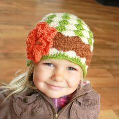 love the crochet hat!