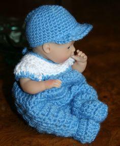 PATTERN Crochet 75 inch Berenguer Baby Doll Romper by charpatterns, $5.00