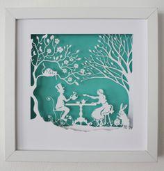 Vrac, Alice au pays des merveilles - Le thé du chapelier est une création orginale de Ateliergreen sur DaWanda