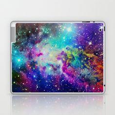 Fox Fur Nebula Laptop & iPad Skin by Starstuff - $25.00