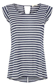 fd35f960d390 Stripe Tail Back T-Shirt House Of Fraser