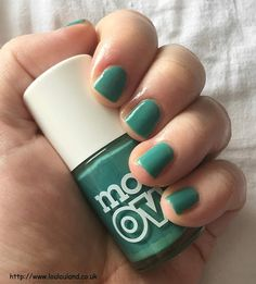LouLouLand: Nails Of The Day - Models Own - Slate Green - Reshot And Rewritten