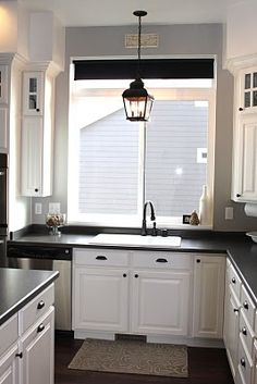 1000 ideas about over sink lighting on pinterest sinks pendant light fixtures and benjamin. Black Bedroom Furniture Sets. Home Design Ideas