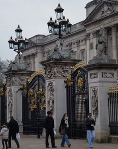 Buckingham Palace...The Queen was in, but she didn't come out to meet us. 2003