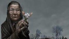old woman illustration - Pesquisa Google