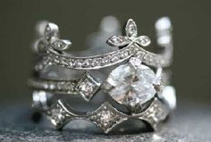 Ever since I shared a pic of Anna Paquin's super-unique engagement ring, I can't stop checking out other rings by the woman who designed it.