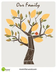 free family tree printables pinned by momitforwardcom super cute contemporary designs if - Family Tree Design Ideas