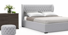Anica Gas Lift King Size Bed Frame -Australia