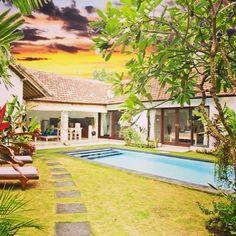 Villa Pagu, view from the garden