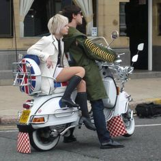 Modern day mod couple.