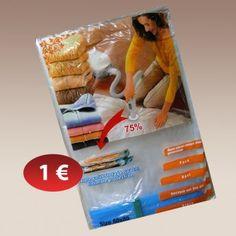 Σακούλα ρούχων αποσυμπιωμένου αέρα 1,00 € Convenience Store, Packing, Convinience Store, Bag Packaging