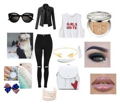"""School"" by demi-lovehorses on Polyvore featuring kunst"