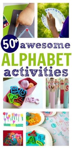 50 awesome alphabet activities by beverley