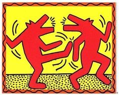 Dancing Dogs ~ Keith Haring
