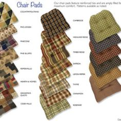 image result for kitchen chair cushions with ties - Kitchen Chair Pads