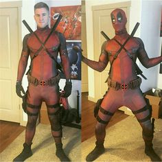 HOT Movie The Avengers Deadpool Cosplay Costume Clothing 3D Printing Tights Zentai Good Permeability Size S-XXL #Affiliate