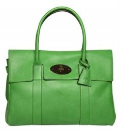 Mulberry Bayswater glossy leather green ss12 jpg 1fc9d41604c2d
