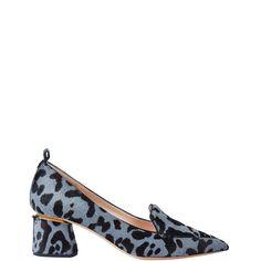These lovlies. Edgy print and classic shape. Nice medium heel.  Nicholas Kirkwood