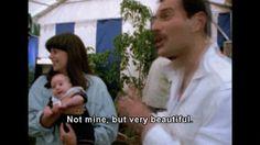 Freddie sees a baby