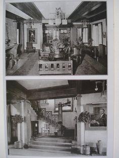 Interior Views of the House of Harry Rubens, Esq. , Glencoe, IL, 1907, George W. Maher