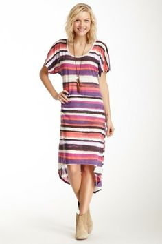 Printed Stripe Dress on HauteLook