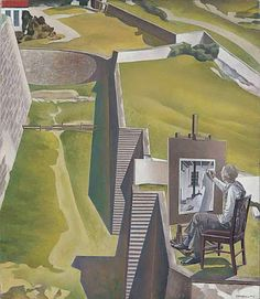 Charles Sheeler, The Artist Looks at Nature, 1943