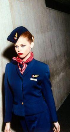 The Flight Attendant Life. Uniform