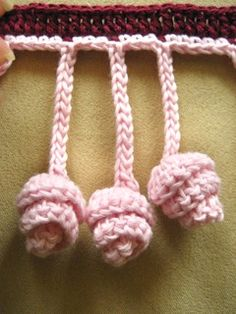 MYpicot blog :) » Blog Archive » Crochet Twisted Fringe
