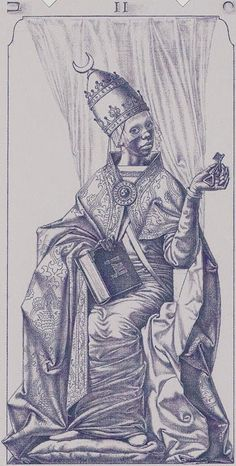 The High Priestess - Tarot of the III Millennium Find out what the High Priestess means for you: www.tarotbyemail.com