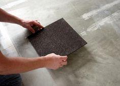 How To Install Cork Floor Tiles